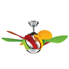 "NEW MyFan Harlequin Mini 36"" Ceiling Fan - Perfect for Kids & Children"