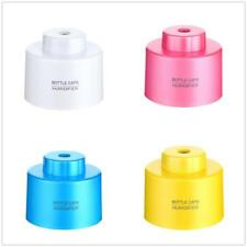 USB Mini Water Bottle Caps Humidifier Air Diffuser Aroma Mist Maker Night Light