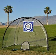 3 in 1 Golf Practice Set Mat Driving Chipping Net