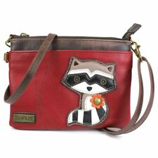 Raccoon Mini Cross body Handbag, Small Shoulder Purse by Chala
