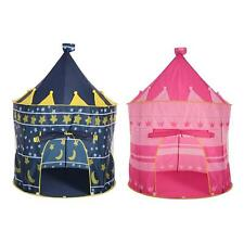 Princess Castle Girl Play Tent Kids Fairy Play House Outdoor Garden Gifts I4J8