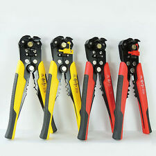 USA Cable Wire Stripper Cutter Crimper Automatic Multifunctional Plier Electric