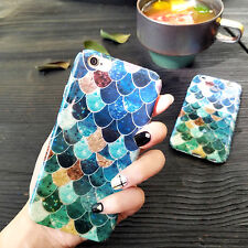 Luxury 3D Fish Scale Hard Back Case Phone Cover for Apple iPhone 6/6S/7/7 Plus