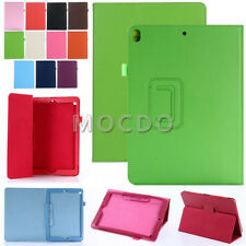 Ultrathin PU Leather Flip Folio Book Case Cover Stand For Various iPad Tablets