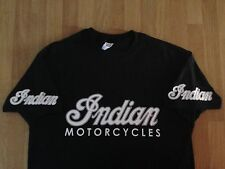 Indian Motorcycles (Old Logo x 4) - Colour T-shirts - colour print options