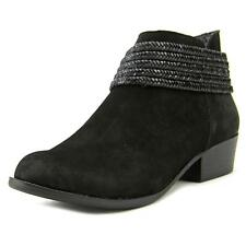 BCBGeneration Clayton Women  Round Toe Leather Black Ankle Boot NWOB
