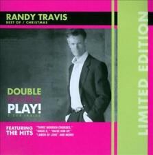 RANDY TRAVIS (COUNTRY) - THREE WOODEN CROSSES/SONGS OF THE SEASON USED - VERY GO