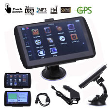 LCD 7 inch GPS navigation device 4GB navigator for car & truck free map update