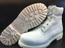 "TIMBERLAND WOMEN'S 6"" PREMIUM WATERPROOF BOOTS A1BJ9 MINT GREEN WATERBUCK"