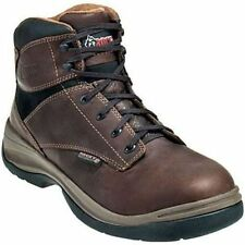 Rocky Boots 6061 Mens Brown Waterproof Leather Steel Toe EH Work Boots