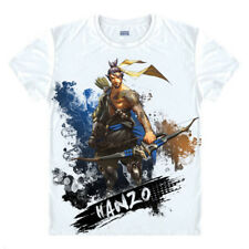 MAN Overwatch Hanzo T-Shirt Casual Cosplay Shirt Game Milk Silk Tee TOP