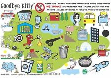 New Goodbye Kittie Collage David & Goliath Characters Poster
