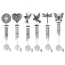 4-Bell Stainless Steel Wind Chimes Indoor Outdoor Patio Hanging Decor Windchimes