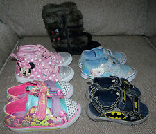 Girl's & Boy shoes Skecher's, Disney Frozen,Disney Minnie,Carter's Boots, Batman
