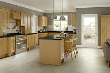 New OAK Kitchen Base and Wall Units Cabinets Complete New