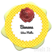 BANANA highly scented soy wax tarts melts candle for oil burner 25g