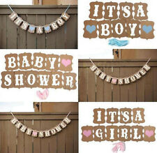 Girl Party Boy Decorations Baby Shower Cute Bunting Baby Banner 1 Pcs Borthday