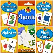 Flash Cards Brighter Child Word Early Learning Educational Kids Practice Skills