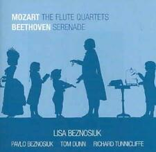 MOZART: THE FLUTE QUARTETS; BEETHOVEN: SERENADE USED - VERY GOOD CD