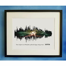 Led Zeppelin Stairway To Heaven Soundwave Sound Wave Waveform Song Poster Art