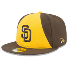 New Era 5950 Youth San Diego Padres 2017 ALT 2 Fitted Hat (Brown/Gold) MLB Cap