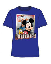 DISNEY MICKEY MOUSE GOOFY PLUTO TODDLER T SHIRT BLUE