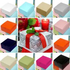 """300 4""""x4""""x2"""" Cake Wedding Party Favors Boxes with Tuck Top Wholesale Supplies"""