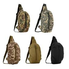 Utility MOLLE Waist Fanny Bum Pack Chest Pouch Outdoor Camping Hiking Belt Bags