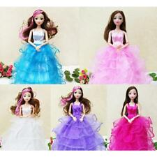 Luxury Handmade Party Dress Clothes Gown Outfits for Barbie Dolls Girls Gift