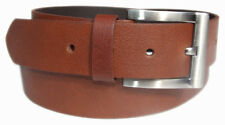 MENS LEATHER BELTS FOR MEN Genuine Cowhide 100% PURE GENUINE Real Leather BELT.