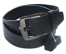 LEATHER Mens Genuine Cowhide 100% Real Leather. PURE GENUINE REAL LEATHER BELTS