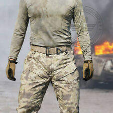 Hot Mens Outdoor Tactical Pants US Army Military Combat Cargo Work Sport Trouser