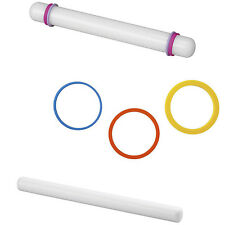 """Wilton Rolling Pins 9"""" or 20"""" or Rolling Pin Rings, Great for fondant U PICK"""