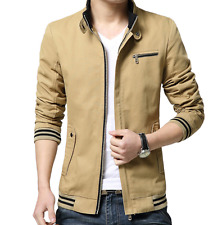 new men jacket coats men cotton casual jacket solid slim veste homme masculina