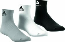 adidas 3S PERFORMANCE ANKLE CUSHIONED Pack Of 3 Sports socks Black White Gray