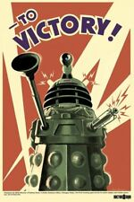 New Doctor Who Dalek To Victory! Dr Who Poster
