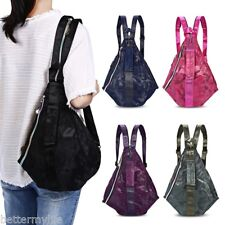 Women's Multi-function bag Camouflage Print Backpack+Crossbody Bag + Handbag
