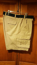 Sonoma Men's Big & Tall Twill Belted Cargo Shorts NWT