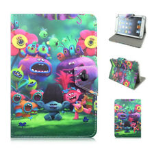 """Trolls Cartoon case for kid 7-7.9"""" universal tablets pu leather stand kids cover"""
