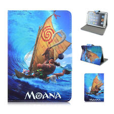"""7-7.9"""" Universal tablet case pu leather Moana movice characters stand flip cover"""