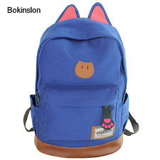 New Backpack Brand Fashion School Simple Cat Ears Bags College School Bag