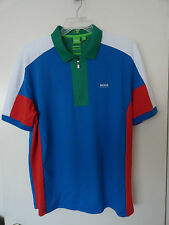 "NWT HUGO BOSS SOCCER WORLD CUP ""PREK FLAG"" ITALY POLO SHIRT MODERN FIT"