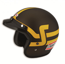 Ducati Scrambler Bell Jet Helmet Brown/Yellow Helmet NEW