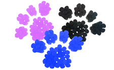 Pets Go Here Poop Bags, Dog Waste Bags Earth Friendly Refill Black Blue Pink