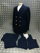 Genuine Military Naval Standard Dress Waistcoat With Metal Anchor Buttons - NEW