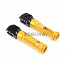 Rider Front Foot Pegs Adapters For DUCATI MONSTER 659/696/796/1100/S/EVO