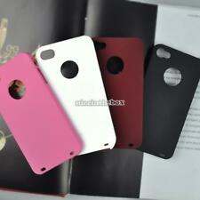 Fashion 4 Colors Frame Skin Cell Phone Back Hard Cover Case for iPhone 4 N98B 01