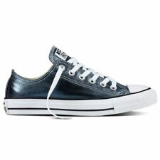 Converse Chuck Taylor All Star Ox Blue Fir White Womens Canvas Low Top Trainers