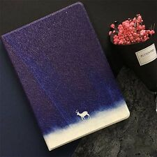 For iPad Mini Pro Air iPhone 7 6s Star Space Galaxy Elk Stand Smart Leather Case