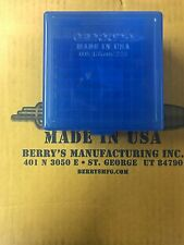 222/223 Plastic Storage Berry's Boxes Blue 50rd/100rd boxes 4-Pack